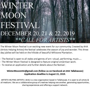 Call for Artists: Winter Moon Festival