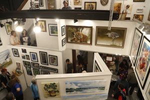 May at Southern Exposure Art Gallery in Railroad Square