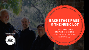 Backstage Pass at The Music Lot: The Jam Kings sponsored by the Island Junkies