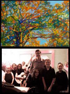 Guitar Recital for Students of Richie Johnson & Junia Mason- Edmonds Closing Art Reception