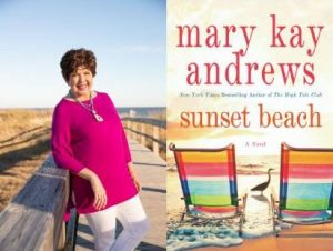Mary Kay Andrews with Sunset Beach
