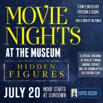 Movie Night at the Museum featuring Hidden Figures