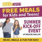 BreakSpot Kids' Free Lunch Kickoff Event
