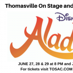 Thomasville On Stage and Company presents Aladdin Jr.