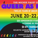 The Mickee Faust Club presents: Queer as Faust XII Cabaret