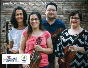 Purple Martin String Quartet: A Music for Food Con...