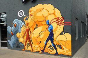 Gaines Street Pies Mural