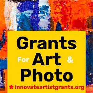 Innovate Grants for Artists & Photographers
