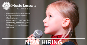Music Instructors Needed in Valdosta, GA