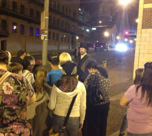Ghost Tour Guides and Characters