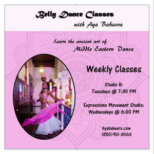 Beginner's Belly Dance at Studio B