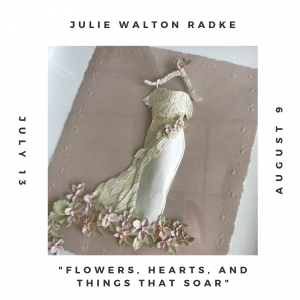Flowers, Hearts, and Things That Soar: Paper Cutting Exhibition by Julie Walton Radke