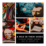 A Mile in Their Shoes - Art Exhibition