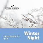 Writer's Gallery - Winter Edition
