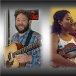 Danny Goddard, Kayla Williams, and George Gray at Blue Tavern