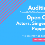 "Auditions for ""One F*cked Up Musical"""