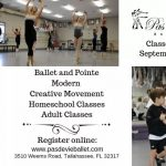 Pas de Vie Ballet's 2019-2020 Classes