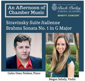 An Afternoon of Chamber Music: Megan Sahely and Dean Peiskee