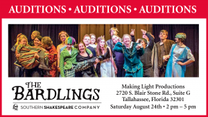 The Bardlings Auditions