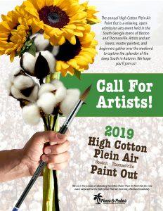 Call For Artists: High Cotton Plein Air Paintout