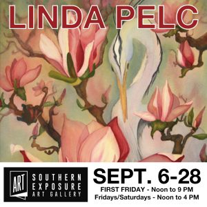 September at Southern Exposure Art Gallery in Railroad Square