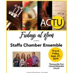 Fridays at Noon Featuring Staffa, Oboe Quartet