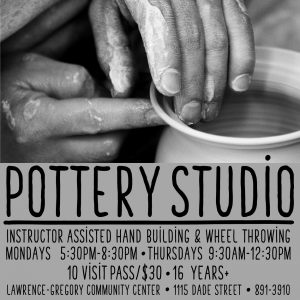 Pottery Workshops - Instructor Assisted Hand Building and Wheel Thowing