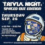 Trivia Night at the Museum: Spaced Out