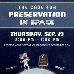 The Case for Preservation in Space
