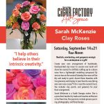 Clay Roses Class with Sarah McKenzie