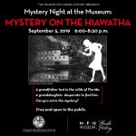 Mystery Night at the Museum: Mystery on the Hiawatha