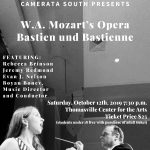 "Camerata South Presents ""Bastien und Bastienne"" - Thomasville's First Live Opera"
