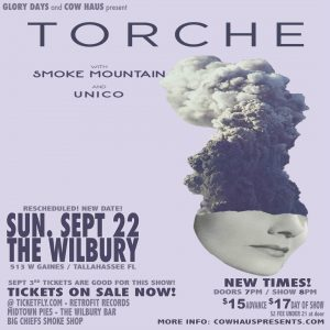 Torche w/ Smoke Mountain & Unico