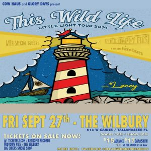 This WildLife w/ The Happy Fits, Rome Hero Foxes & Laney