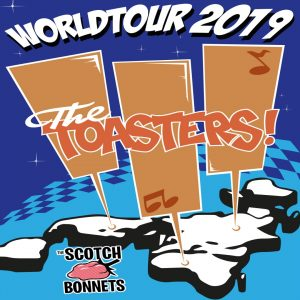 The Toasters w/ The Scotch Bonnets, Trial By Stone & Viper Pilot