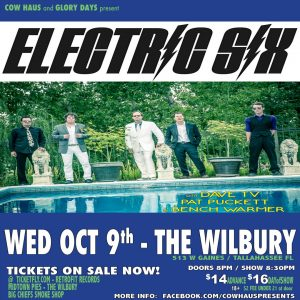 Electric Six w/ DaveTV, Pat Puckett & Bench Warmer