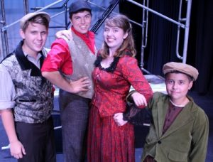 Extra! Extra! Disney's Newsies on the QMT Stage
