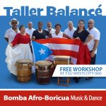 Music & Dance workshop with Taller Balancé Bomba Afro-Boricua