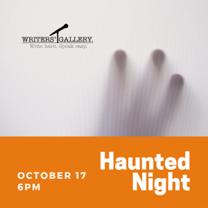 Writer's Gallery - Haunted Edition