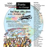 100 Thousand Poets for Change - Tallahassee 2019