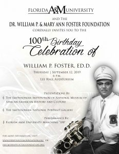 100th Birthday Celebration of William P. Foster, Ed.D.