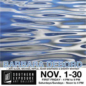 November at Southern Exposure Art Gallery