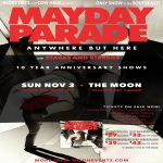 Mayday Parade w/ Stages and Stereos