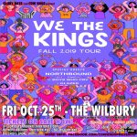 We The Kings w/ Northbound, Boys Who Cry & Glazed
