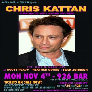 Chris Kattan (from Sat Night Live) w/ Scott Peavy, Heather Goode & Tekk Johnson