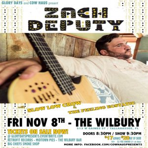 Zach Deputy w/ Slow Low Crow & The Feeling Ecstatic