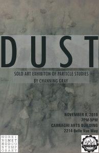 D U S T: A Solo Art Exhibition of Particle Studies...