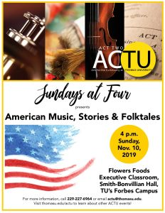 Sunday at Four: American Music, Stories and Folk Songs