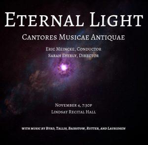 Early Music Ensembles – Cantores Musicae Antiquae performance