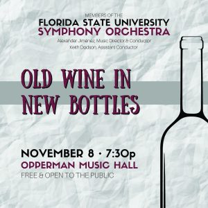 University Symphony Orchestra Chamber Orchestra - Old Wine in New Bottles